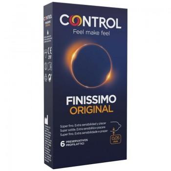 CONTROL FINISSIMO ORIGINAL 6 UNIDADES
