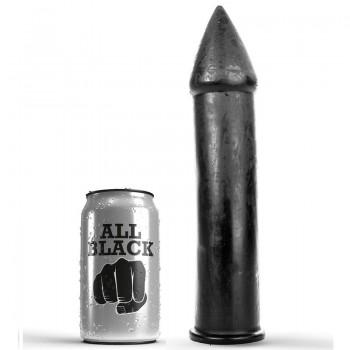 ALL BLACK DILDO 24CM