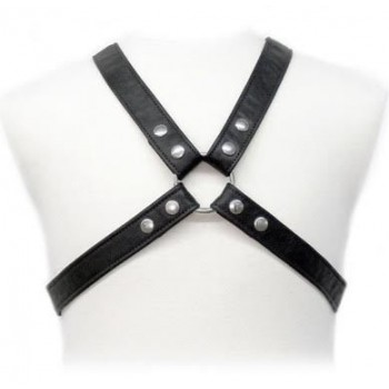 BODY LEATHER LASIC HARNESS IN GARMENT